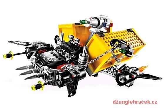 Lego 5972 Space Police Únik vesmírného náklaďáku