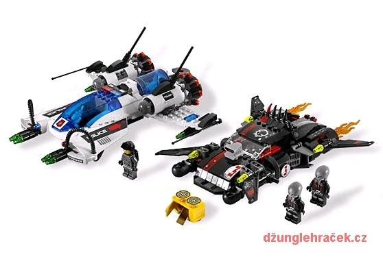 Lego 5973 Space Police Hyperrychlá stíhačka
