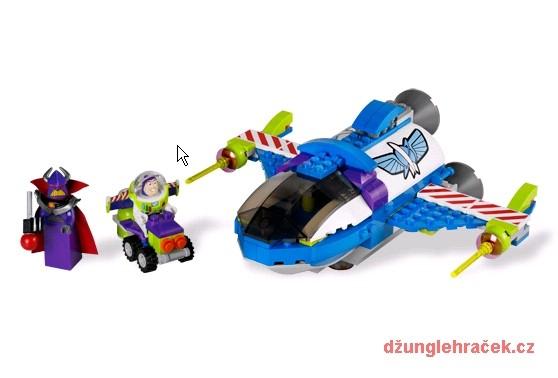 Lego 7593 Buzzův vesmírný velitelský raketoplán