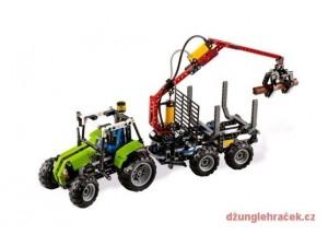 obrázek Lego 8049 Technic Traktor s valníkem na klády