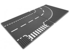 obrázek Lego 7281 City Podložka T křižovatka