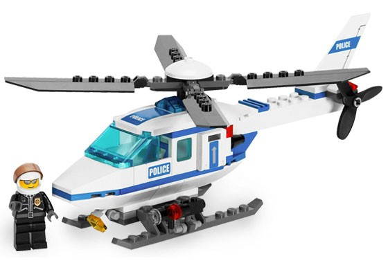 Lego 7741 City Policejní vrtulník