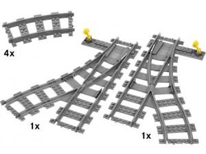 obrázek Lego 7895 City Koleje-výhybky