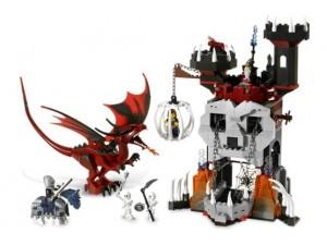 obrázek Lego 7093 Věž kostlivce