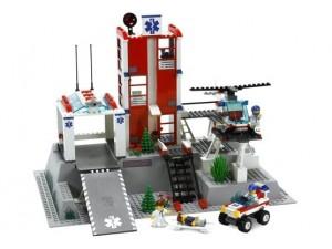obrázek Lego 7892 City Nemocnice