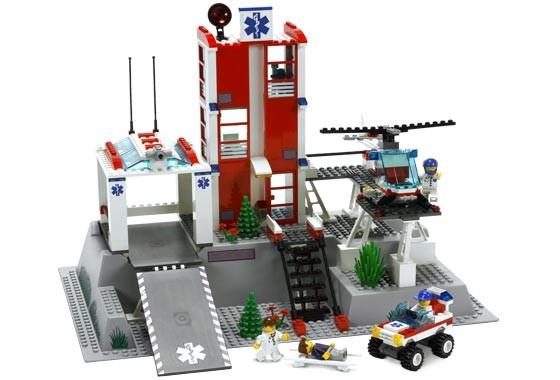 Lego 7892 City Nemocnice