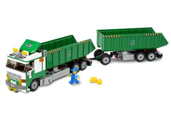 Lego 7998 City Nákladní auto s vlekem