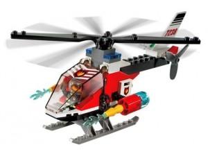 obrázek Lego 7238 City Hasičský vrtulník