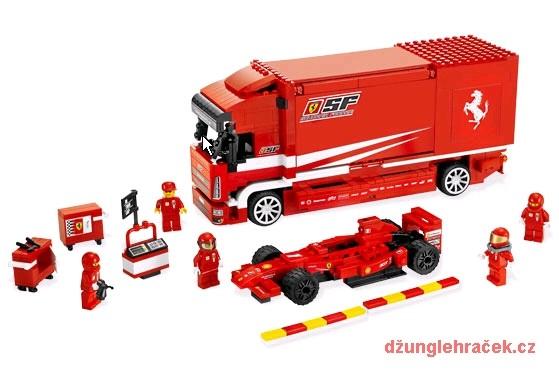 Lego 8185 Ferrari Truck F1