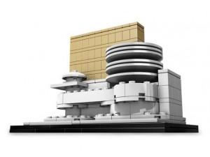 obrázek Lego 21004 The Solomon Robert Guggenheim Museum.