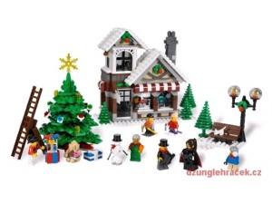 obrázek Lego 10199 Creator Vánoční sada -zimní hračkářství
