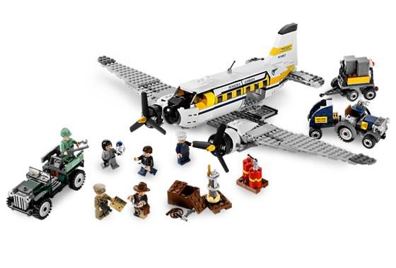 Lego 7628 Indiana Jones Nebezpečí v Peru