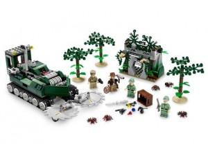 obrázek Lego 7626 Indiana Jones Fréza do džungle