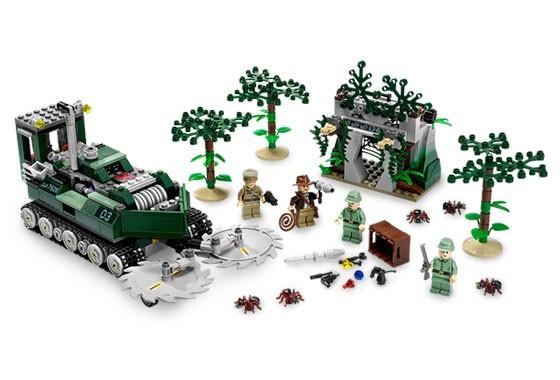Lego 7626 Indiana Jones Fréza do džungle