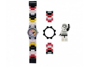 obrázek Lego 2855057 hodinky Star Wars Stormtrooper