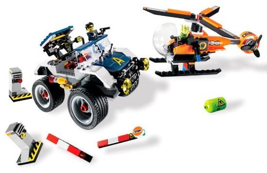 Lego 8969 Agents 2.0 Honička na čtyřech kolech