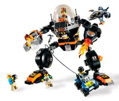 Lego 8970 Agents 2.0 Útok robota