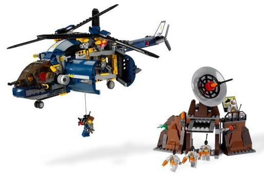 Lego 8971 Agents 2.0 Jednotka vzdušné obrany
