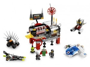 obrázek Lego 5980 Space Police Squidmanovo doupě