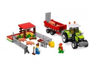 obrázek Lego 7684 City Vepřín a traktor