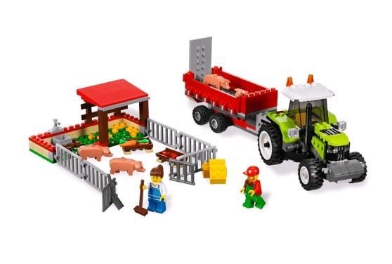 Lego 7684 City Vepřín a traktor