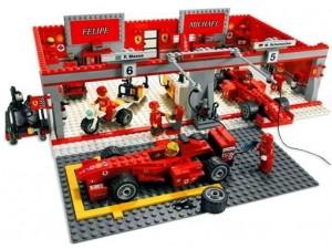 obrázek Lego 8144 Ferrari F1 Team
