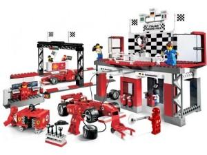 obrázek Lego 8672 Ferrari F1 Team
