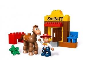 Lego 5657 Duplo Toy story Jessie v akci