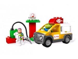 obrázek Lego 5658 Duplo Toy story Dodávka Pizza Planet