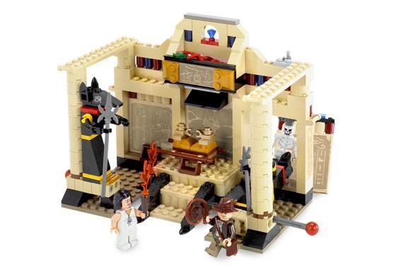 Lego 7621 Indiana Jones a ztracená hrobka
