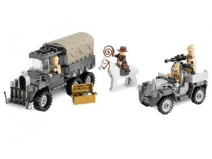 obrázek Lego 7622 Indiana Jones Honba za ztraceným pokladem