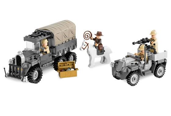 Lego 7622 Indiana Jones Honba za ztraceným pokladem