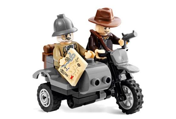 Lego 7620 Indiana Jones Motocyklová honička