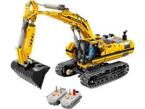 obrázek Lego 8043 Technic Bagr s motorem.