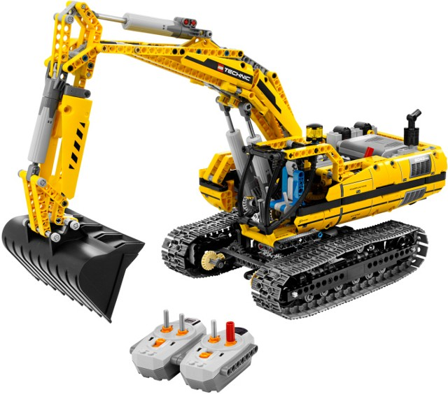Lego 8043 Technic Bagr s motorem.