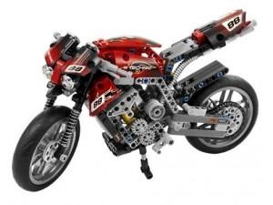 obrázek Lego 8051 Technic Motorka