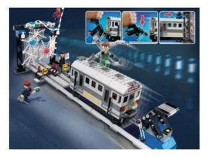 obrázek Lego 4855 Spiderman-Záchrana vlaku