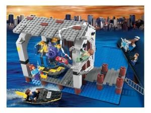obrázek Lego 4856 Spiderman-Únik z doků