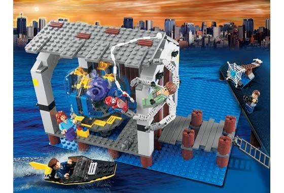 Lego 4856 Spiderman-Únik z doků