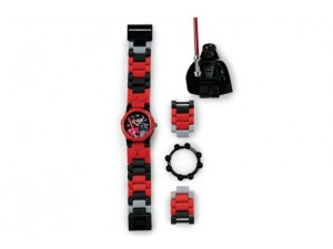 obrázek Lego 2850828 hodinky Star Wars Darth Vader
