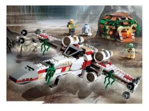 obrázek Lego 4502 Star Wars Dagobah X Wing Fighter