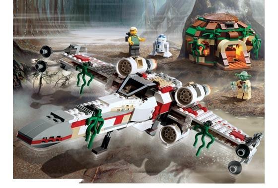 Lego 4502 Star Wars Dagobah X Wing Fighter