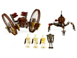 obrázek Lego 7670 Star Wars Ostřelovací a pavoučí droid