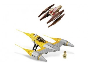 obrázek Lego 7660 Star Wars Naboo N-1 Starfighter