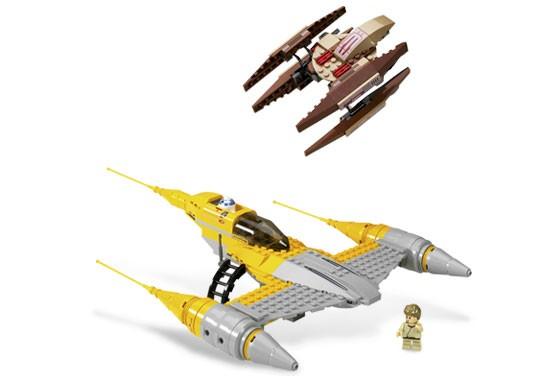 Lego 7660 Star Wars Naboo N-1 Starfighter