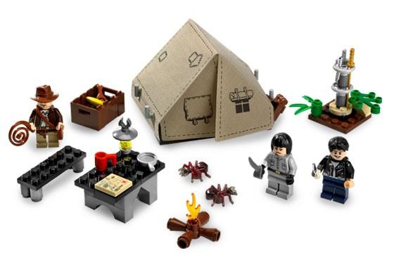 Lego 7624 Indiana Jones Souboj v džungli