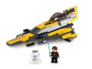 obrázek Lego 7669 Star Wars Anakinova Jedi Starfighter