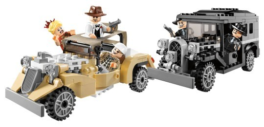 Lego 7682 Indiana Jones Honička v Šanghaji