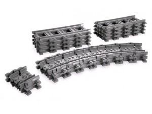 obrázek Lego 7499 City Ohebné flexibilní koleje