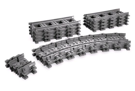 Lego 7499 City Ohebné flexibilní koleje